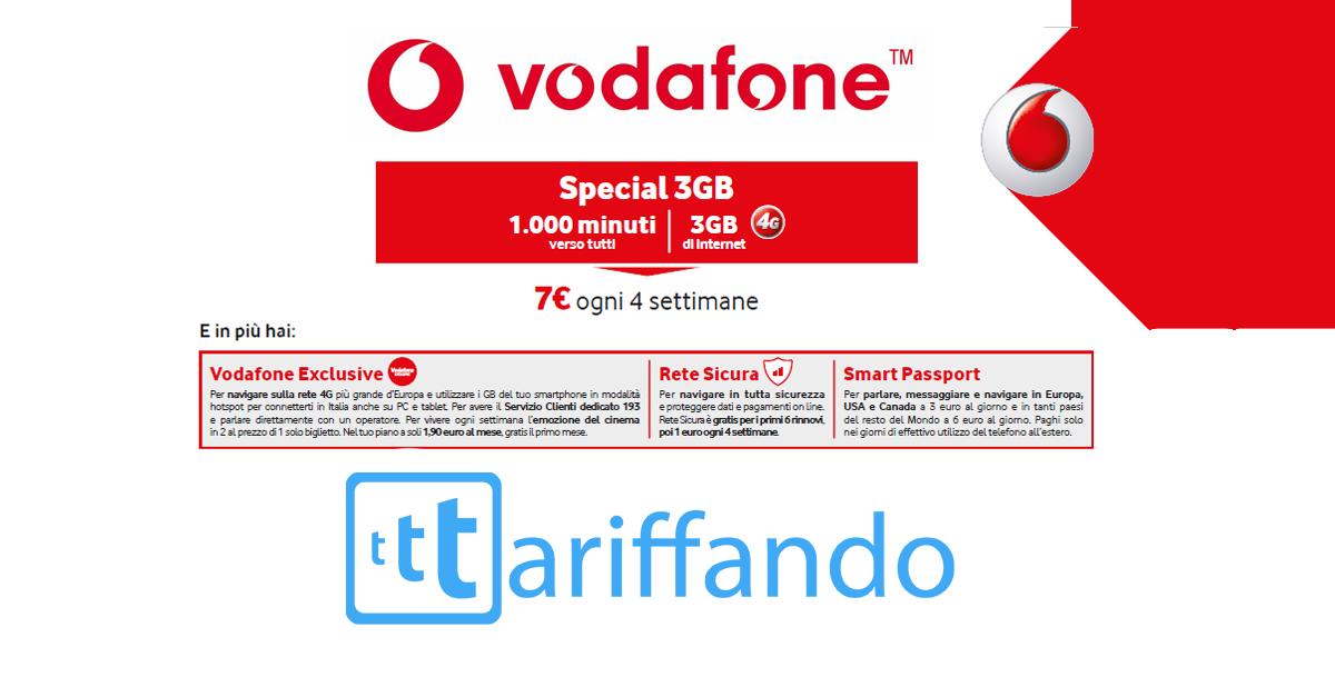 Vodafone special 1000 3gb