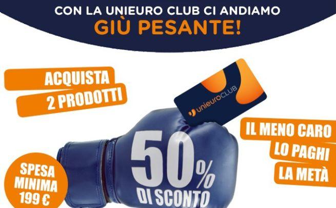 Unieuro 50 di sconto sul prodotto meno costoso for Magazzini telefonia discount recensioni