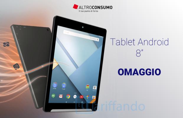 tablet Android Altroconsumo gratis
