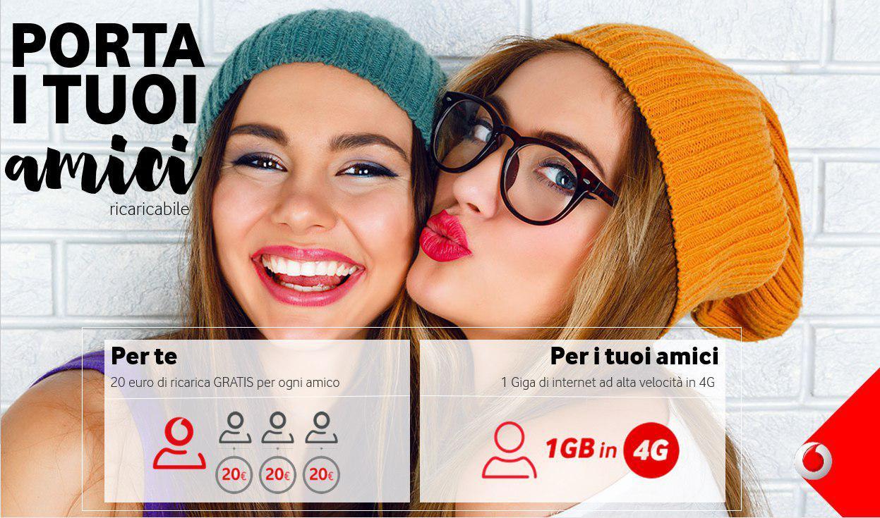 Porta i tuoi amici in vodafone proroga fino ad aprile - Vodafone porta un amico ...